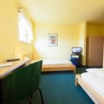 Doppelzimmer mit getrenten Betten