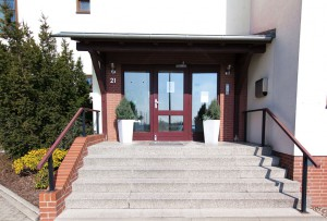 Hotel Weide Eingang